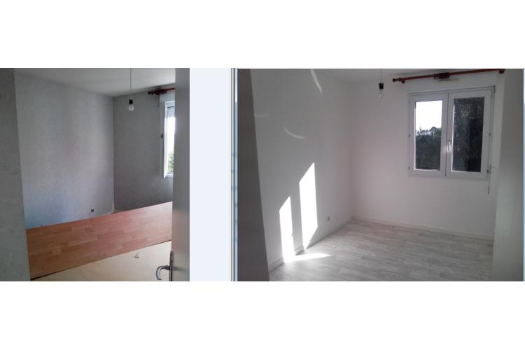 chambre 2 avant/après